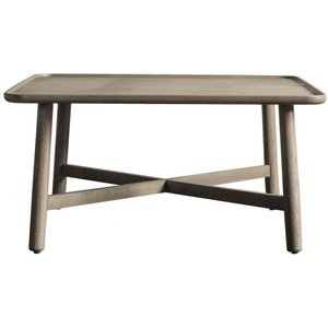 Gallery Direct Gallery Kingham Grey Square Coffee Table