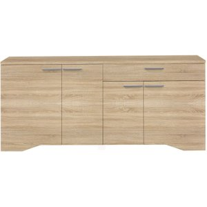 Gami Palace Sonoma Oak Sideboard - 4 Door 1 Drawer