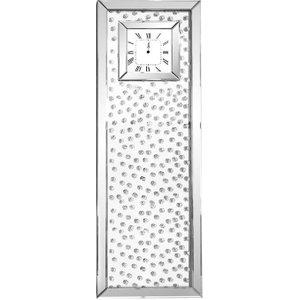 Fairmont Glitz Tall Mirror Wall Clock