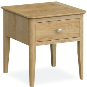 Global Home Bath Oak Lamp Table