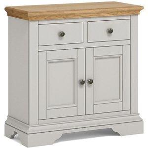 Global Home Chester Small Sideboard - Oak And Soft Grey Painted