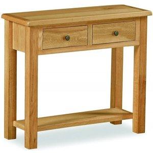Global Home Cork Lite Oak Console Table G4576