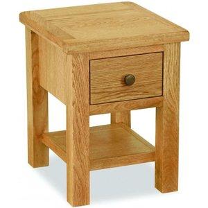 Global Home Cork Lite Oak Lamp Table