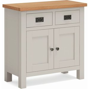 Global Home Devon Small Sideboard - Oak And Soft Cotton Painted