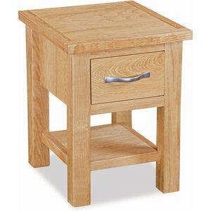 Global Home New Trinity Oak Lamp Table