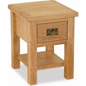 Global Home Salisbury Lite Oak Lamp Table