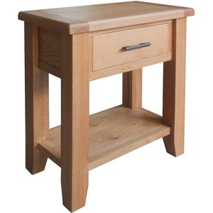 Furniture Now Hampshire Oak Small Console Table