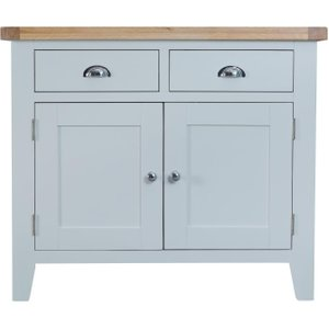 Scuttle Interiors Hampstead Medium Sideboard - Oak And Grey Painted