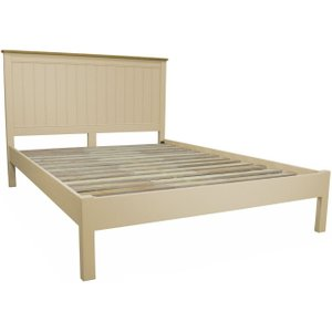 Classic Furniture Harmony Cobblestone Bedstead - Oak And Painted, Painted
