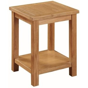 Annaghmore Hartford City Oak Lamp Table