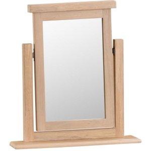 Scuttle Interiors Henley Oak Trinket Mirror