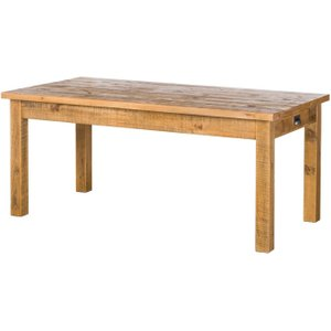 Hill Interiors Deanery Solid Rustic Pine Dining Table, Natural