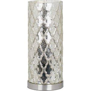 Hill Interiors Genevieve Mercury Uplight Table Lamp