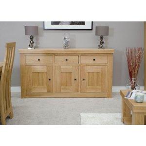 Homestyle Gb Furniture Homestyle Gb Bordeaux Oak Medium Sideboard