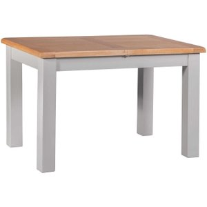 Homestyle GB Furniture Homestyle Gb Diamond Painted Small Extending Dining Table, Painted