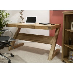 Homestyle GB Furniture Homestyle Gb Opus Oak Z Style Office Desk