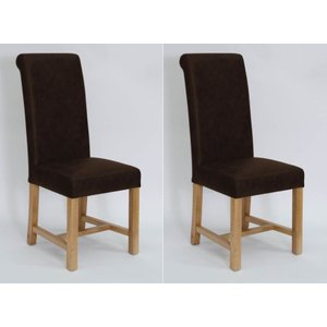 Homestyle Gb Furniture Homestyle Henley Expreso Full Leather Dining Chair