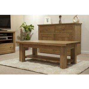 Homestyle Vermont Oak 4 X 2 Coffee Table