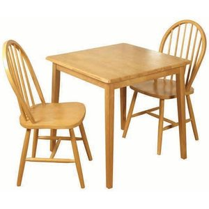 Annaghmore Honeymoon Light Oak Square Dining Table