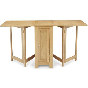 Serene Furnishings Hounslow Oak Multi Function Folding Dining Table