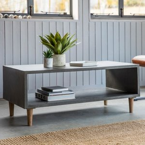 Gallery Direct Hudson Living Bergen Cube Coffee Table