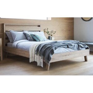 Gallery Direct Hudson Living Kielder Oak 5ft King Size Bed