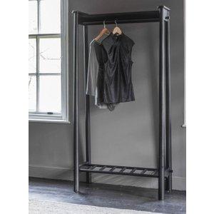 Gallery Direct Hudson Living Wycombe Open Wardrobe - Black, Black