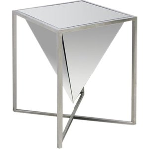 Fairmont Iceberg Mirrored Side Table