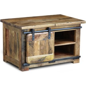 Indian Furniture Company Iron Works Mango Wood Coffee Table
