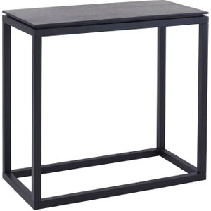 Space London Islington Black Small Console Table
