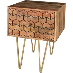 Jaipur Furniture Jaipur Nive Mango Wood Lamp Table