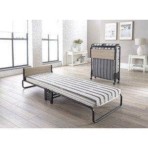 Jay-be Revolution Airflow Fibre Single Folding Bed, Durable Powder Coat Paint