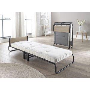 Jay-be Revolution Pocket Sprung Single Folding Bed, Durable Powder Coat Paint