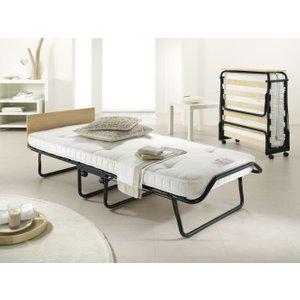 Jay-be Royal Pocket Sprung Single Folding Bed, Durable Epoxy Paint