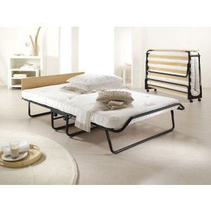Jay-be Royal Pocket Sprung Small Double Folding Bed, Durable Epoxy Paint