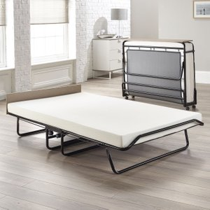 Jay-be Supreme Memory Foam Small Double Folding Bed, Coated Woven Polyester