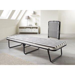 Jay-be Value Airflow Fibre Single Folding Bed, Durable Powder Coat Paint