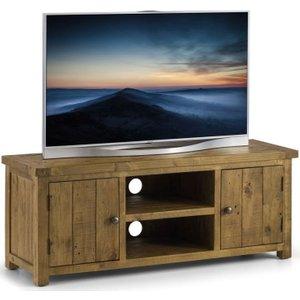 Julian Bowen Furniture Julian Bowen Aspen Pine Tv Unit, Rough Sawn Pine