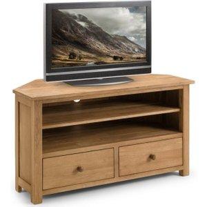Julian Bowen Furniture Julian Bowen Coxmoor Oak Tv Unit, Oiled Oak