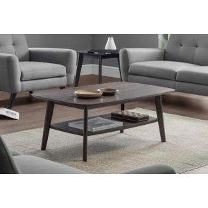 Julian Bowen Furniture Julian Bowen Kensington Walnut Coffee Table