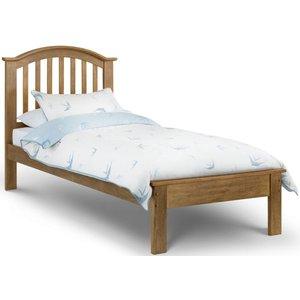 Julian Bowen Furniture Julian Bowen Olivia Light Oak Bed, Oak Lacquered