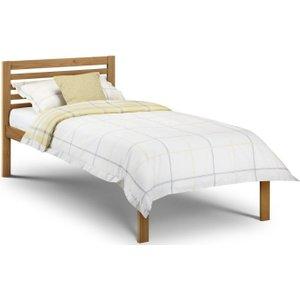 Julian Bowen Furniture Julian Bowen Slocum Pine 3ft Single Bed, Low Sheen Lacquered
