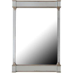 Deco Home Killona Champagne Rectangular Wall Mirror - 80cm X 120cm, Champagne and Mirrored