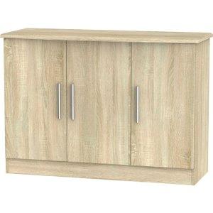 Welcome Furniture Knightsbridge Bardolino 3 Door Sideboard