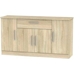 Welcome Furniture Knightsbridge Bardolino 4 Door 1 Drawer Wide Sideboard