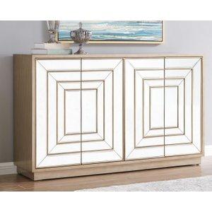 Glimmer Furniture Lexington 4 Door Sideboard