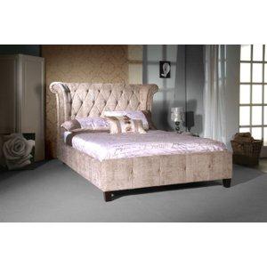 Limelight Beds Limelight Epsilon Mink Velvet Bed, Mink
