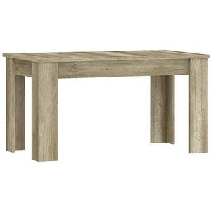 Arte Nova Lincoln Country Oak Extending Dining Table, Country Oak
