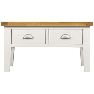 House Brands Lundy White Coffee Table