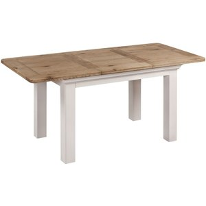 Annaghmore Lyon Butterfly Extending Dining Table - Oak And Painted, Painted